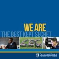 a community of faith - Conwell-Egan Catholic High School