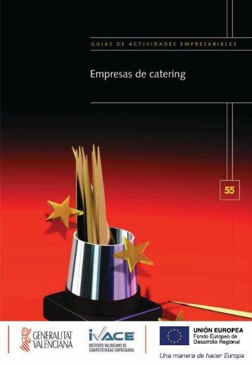 Guía de Empresas de Catering Pág. 1 - EmprenemJunts
