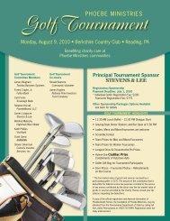 Golf Tournament - Phoebe Ministries