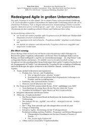 Redesigned Agile in großen Unternehmen - Korn AG