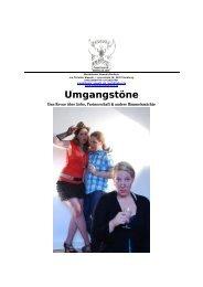 Umgangstöne - Theaterwerkstatt Ludi
