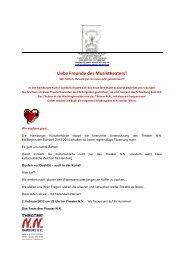 Newsletter - Theaterwerkstatt Ludi