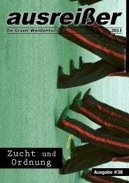 Zucht und Ordnung - ausreißer - die grazer wandzeitung - Mur