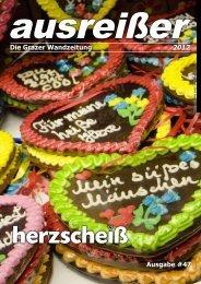 Ausgabe #47 Die Grazer Wandzeitung 2012 - ausreißer - die grazer ...