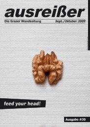 feed your head! - ausreißer - die grazer wandzeitung - mur.at