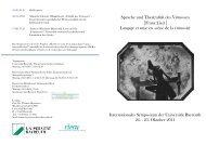 Programm - Prof. Musikwissenschaft - Universität Bayreuth