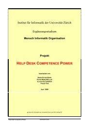 HELP DESK COMPETENCE POWER - Korn AG