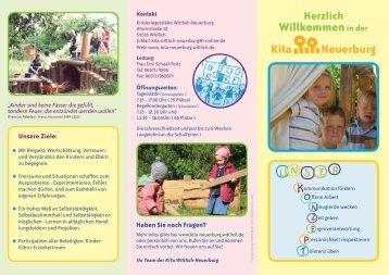 Willkommenin der Kita Neuerburg - Kindertagesstätte Wittlich ...
