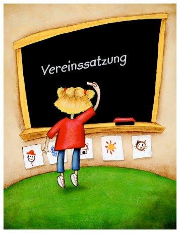 Neue Satzung ohne Bild 29.05.2010 - KITA Regenbogen eV