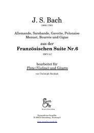 J. S. Bach - GanzOhr