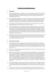 Allgemeine Geschäftsbedingungen - EuroNet Software AG