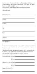 Anmeldung im pdf-Format herunterladen - Stadt und Natur