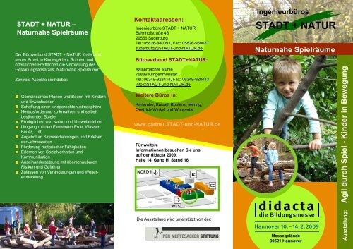 Flyer im pdf-Format herunterladen - Stadt und Natur