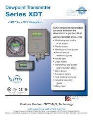 Dew Point Meter Manual - Pioneer Air Systems Engineering