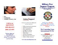 Online Support - The Counseling Team International