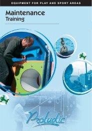 Maintenance manual - Proludic