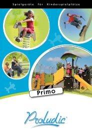 Spielgeräte für Kinderspielplätze - Proludic