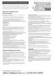 DruckDatenblatt - Werbeartikel