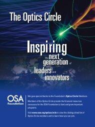 generation leadersand next innovators - Complex Photonic Systems ...