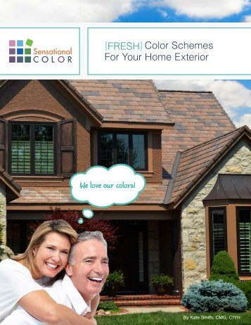 {FRESH}Color Schemes For Your Home Exterior - Therma-Tru Doors