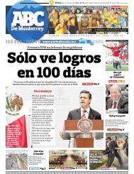 Presenta EPN un informe de su gobierno - Periodicoabc.mx