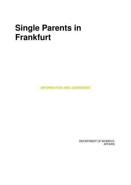 7 breite frankfurt gasse 9 Anlaufstellen