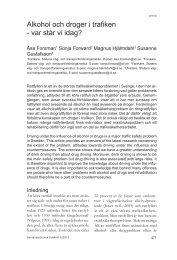 Socialmedicinsk tidskrift nummer 6/2012 (pdf-fil) - VTI
