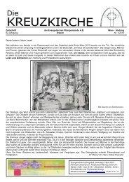 Hietzing 62.Jahrgang Ostern Nr. 1/2013 Werte Leserin, lieber Leser!