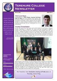Newsletter Spring Summer 2015