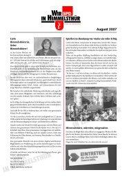 Ausgabe August 2007 - SPD-Ortsverein Himmelsthür