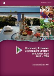 Community Economic Development Strategy and Action Plan 2011 ...