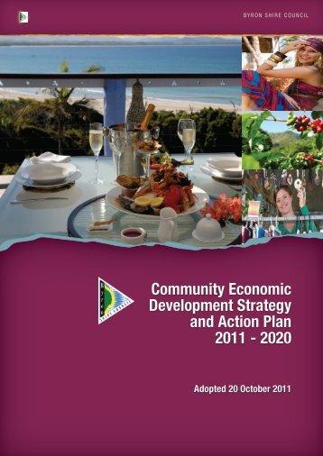 Community Economic Development Strategy and Action Plan 2011 ...