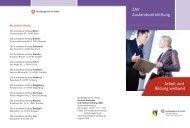 Arbeit und Bildung weltweit  - Zentrale Auslands- und ...