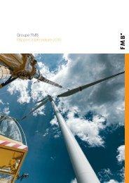 Groupe FMB Rapport intermédiaire 2010