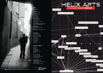 Annual Report 2008/09 - Helix Arts