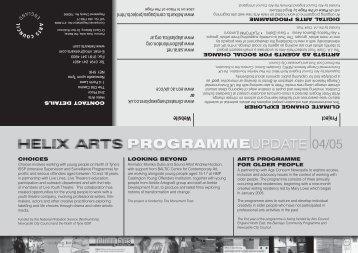 Proj ect Webs ite - Helix Arts