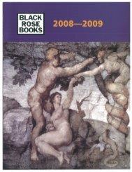 Frontlist Catalogue - Black Rose Books
