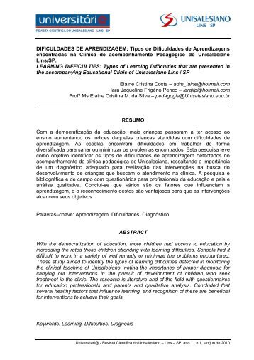 CANAIS DE MARKETING - unisalesiano