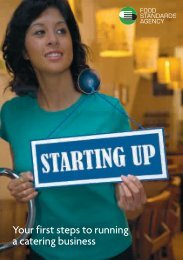 Starting Up: Your first steps to running a catering business