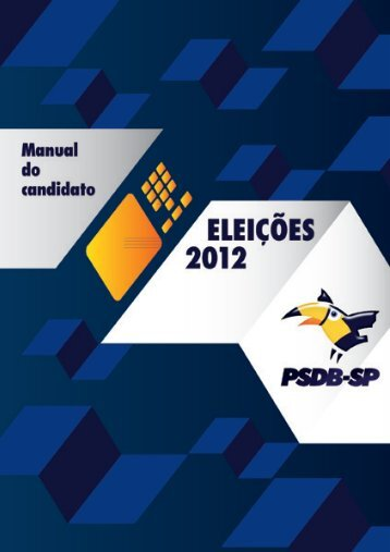 Manual do Candidato - PSDB-SP