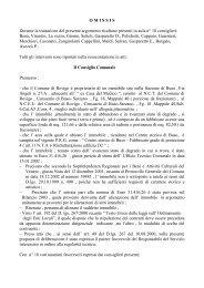 Oggetto: Alienazione immobile sito in Rovigo , Via Principe di Napoli ...