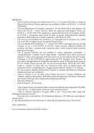 PREMESSO - Che il Comune di Rovigo con deliberazione di C.C. n ...