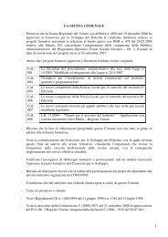 Premesso che la Giunta Regionale del Veneto con delibera n. 4056 ...