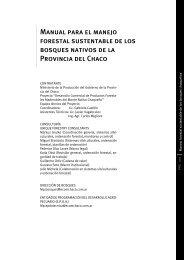 Manual para el manejo forestal sustentable de los bosques nativos ...