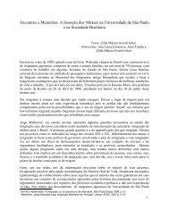 A Inserção dos Nikkeis na Universidade de São ... - Diversitas - USP