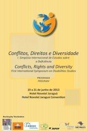 Conflitos, Direitos e Diversidade - Diversitas - USP