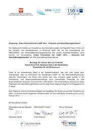"Einladung: ""Polen Partnerland der CeBIT 2013 ... - JP Weber"