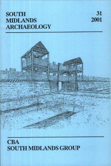 CBA SMA\SMA 2001.PDF - Council for British Archaeology