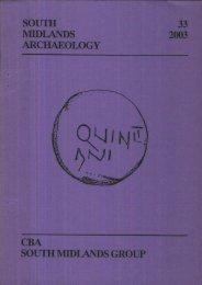 CBA SMA\SMA 2003.PDF - Council for British Archaeology