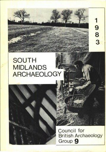 CBA SMA\SMA 1983.PDF - Council for British Archaeology